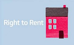 IMPORTANT REMINDER: Right to rent
